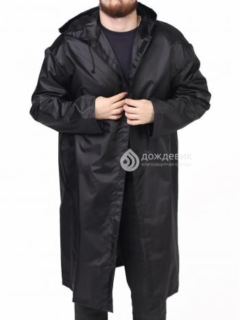 Плащ-дождевик тканевый влагозащитный мужской